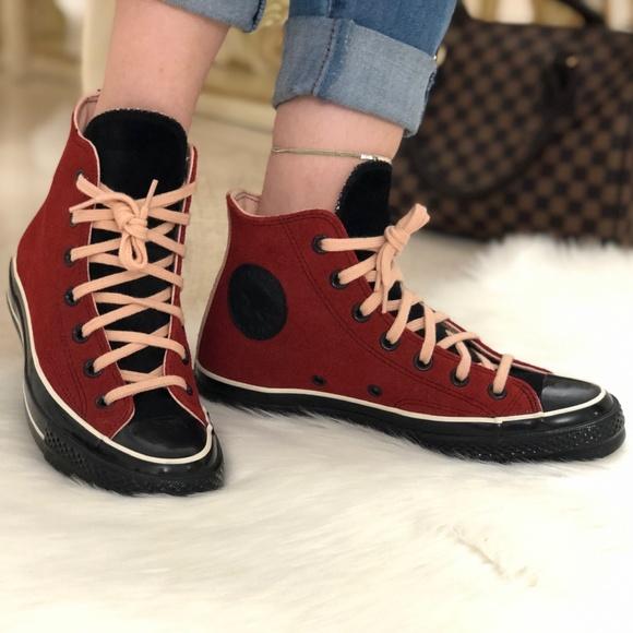 Converse Shoes - Converse Custom Chuck 70 Suede High Top Shoes bb6b9c1c6